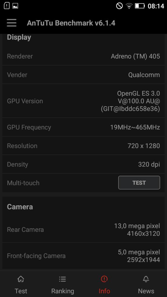 Lenovo K5 benchmark 4