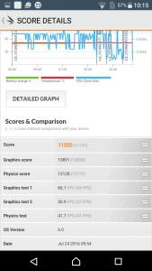 Sony Xperia XA Benchmark 12