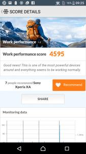 Sony Xperia XA Benchmark 9
