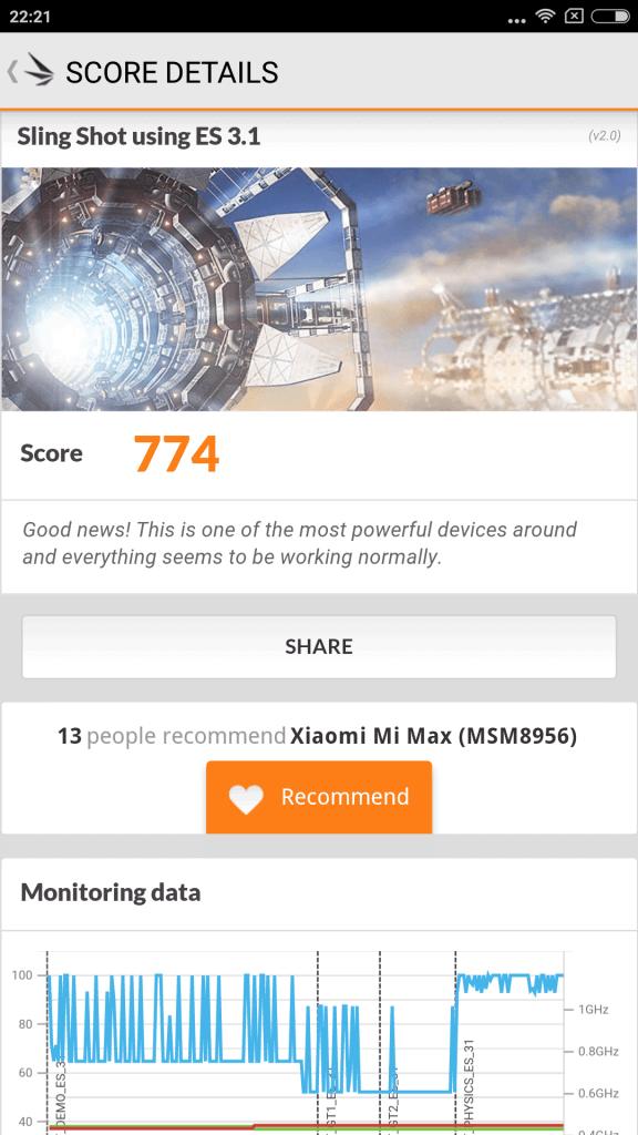 Xiaomi Mi Max Benchmark 14