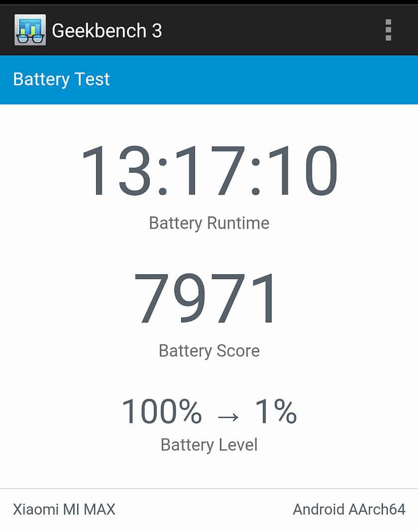 Xiaomi Mi Max Benchmark 55
