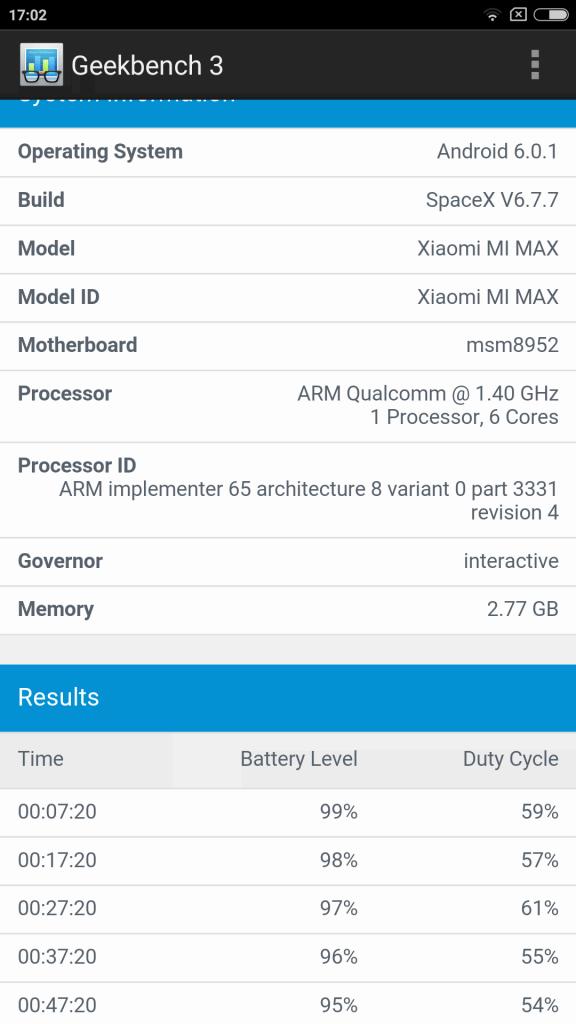 Xiaomi Mi Max Benchmark 6