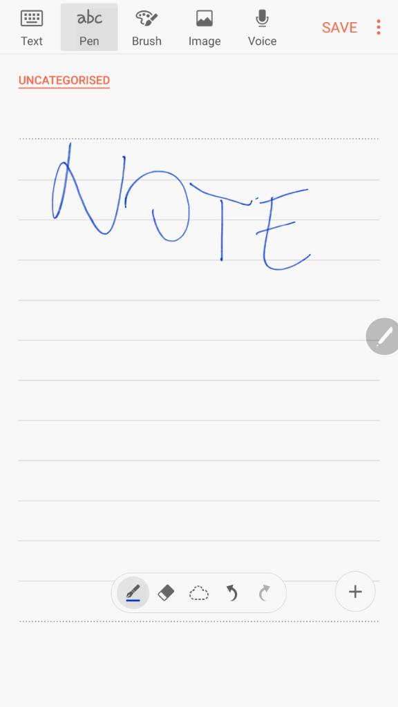 Samsung Galaxy Note7 sucelje 22