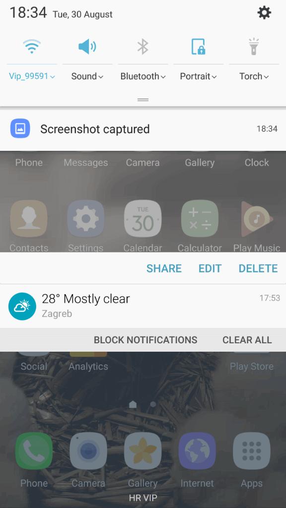 Samsung Galaxy Note7 sucelje 4