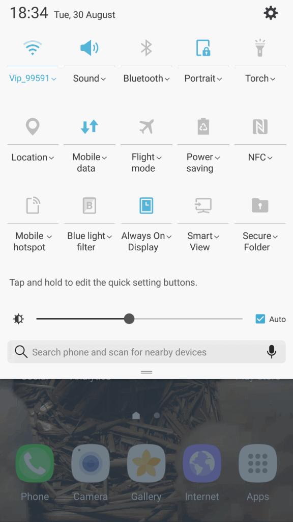 Samsung Galaxy Note7 sucelje 5
