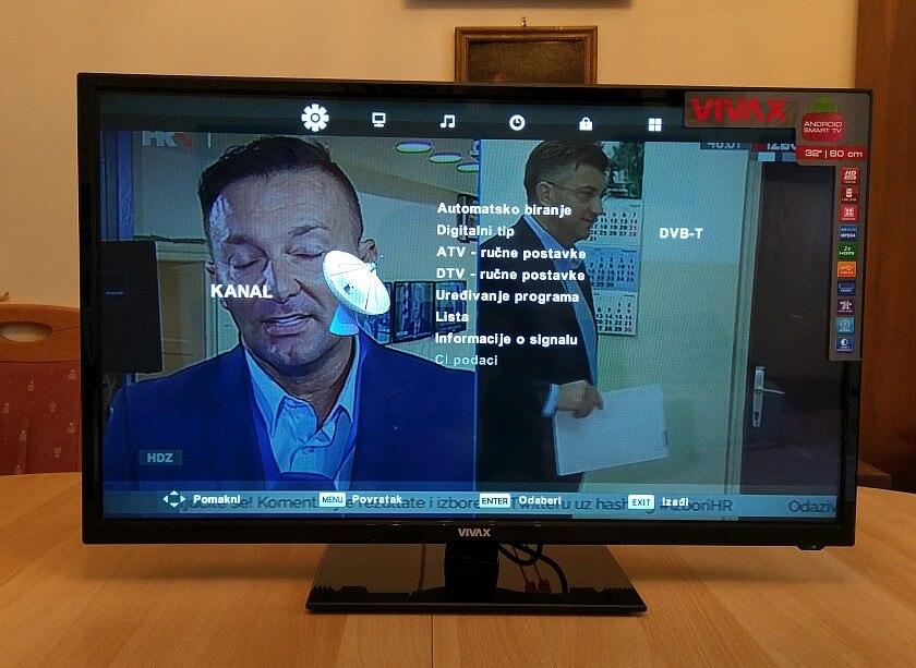 VIVAX TV 32LE74 12