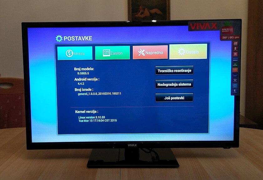 VIVAX TV 32LE74 22