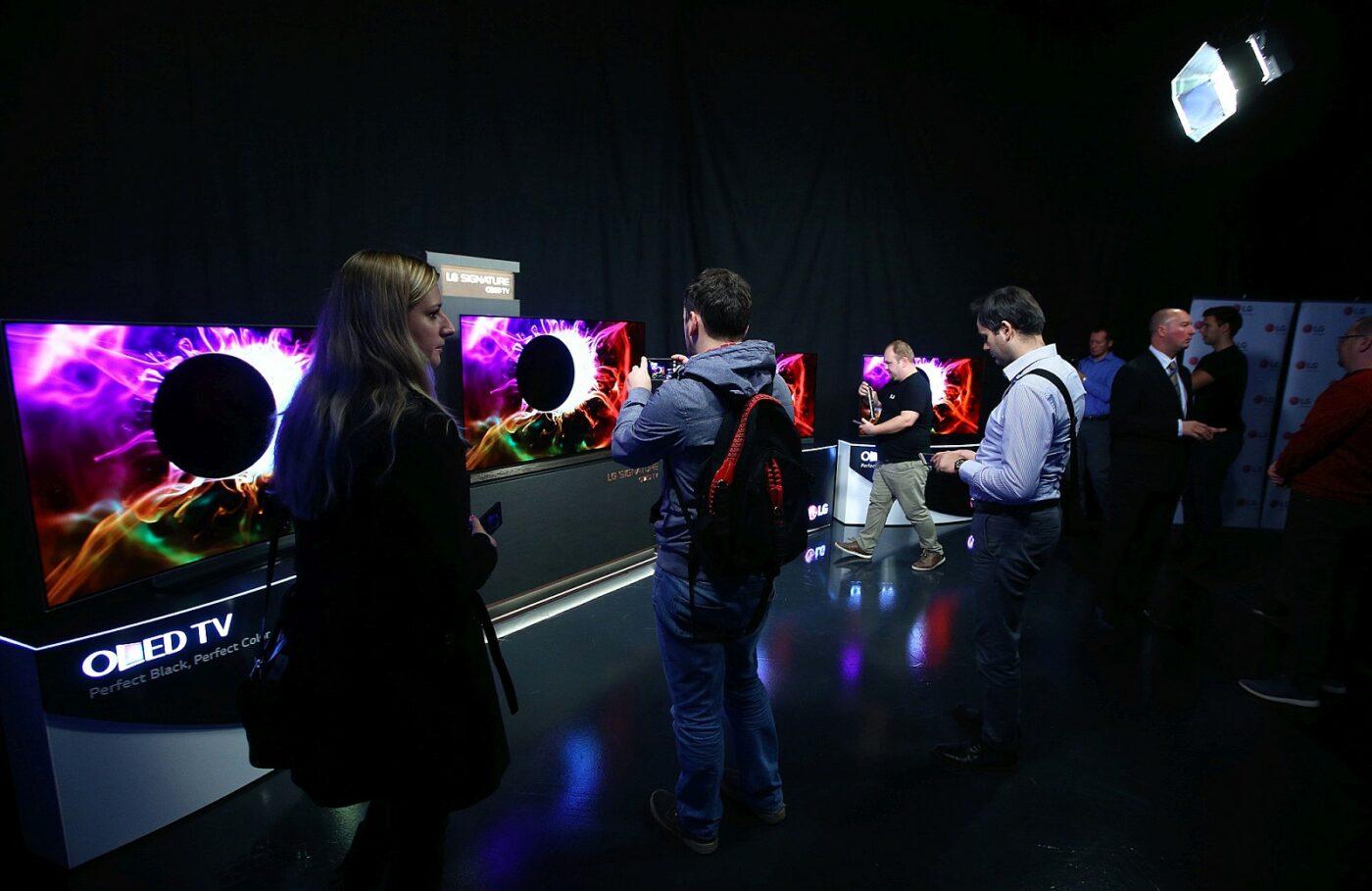 LG OLED 2016 event 1