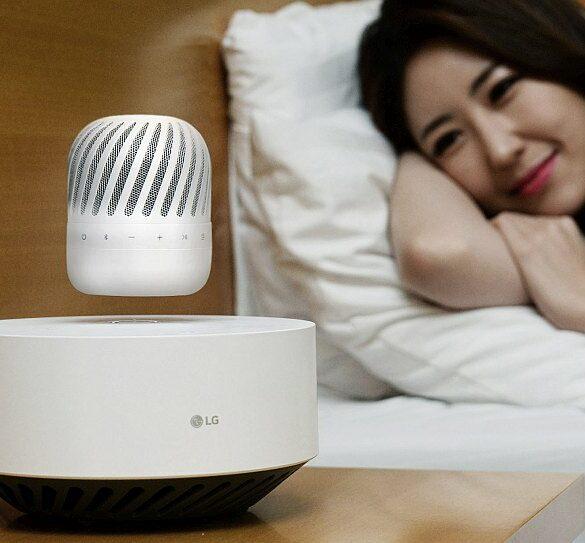 LG Levitating Portable Speaker 2