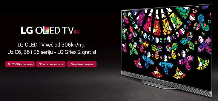 LG OLED TV akcija