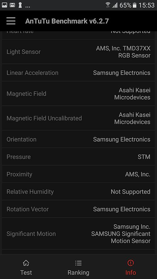 Samsung A5 2017 benchmark 10
