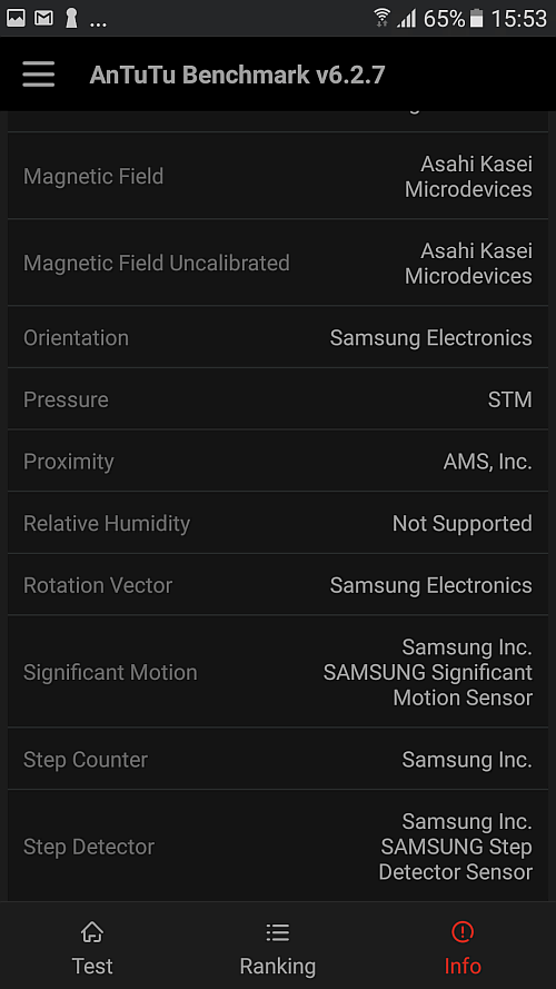 Samsung A5 2017 benchmark 11