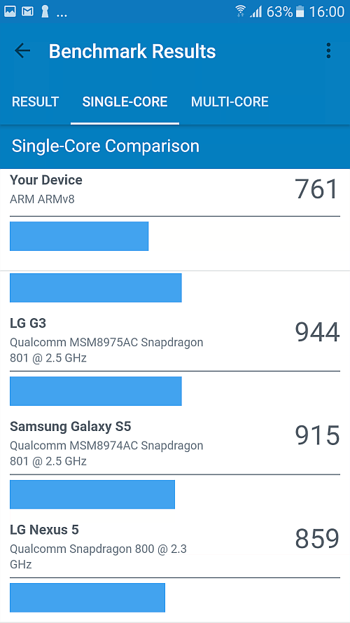 Samsung A5 2017 benchmark 13