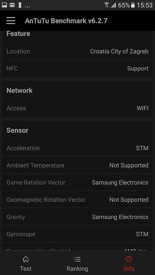 Samsung A5 2017 benchmark 9
