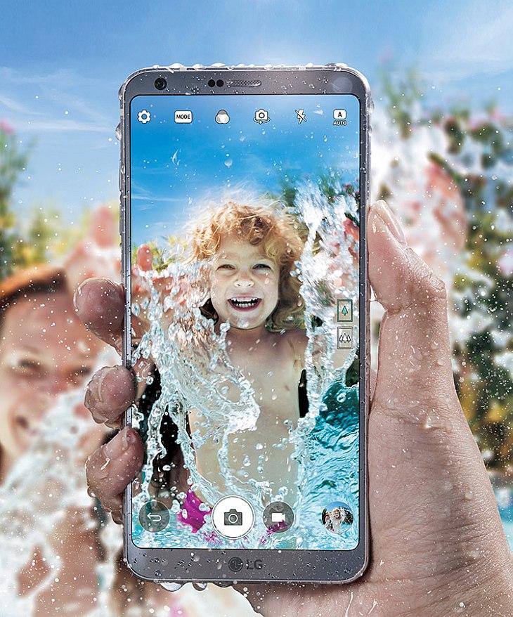 LG G6 IP68