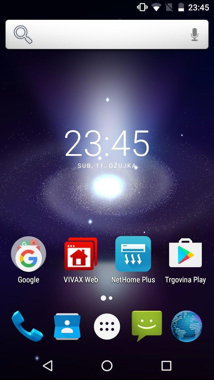 Vivax Point X551 OS 1
