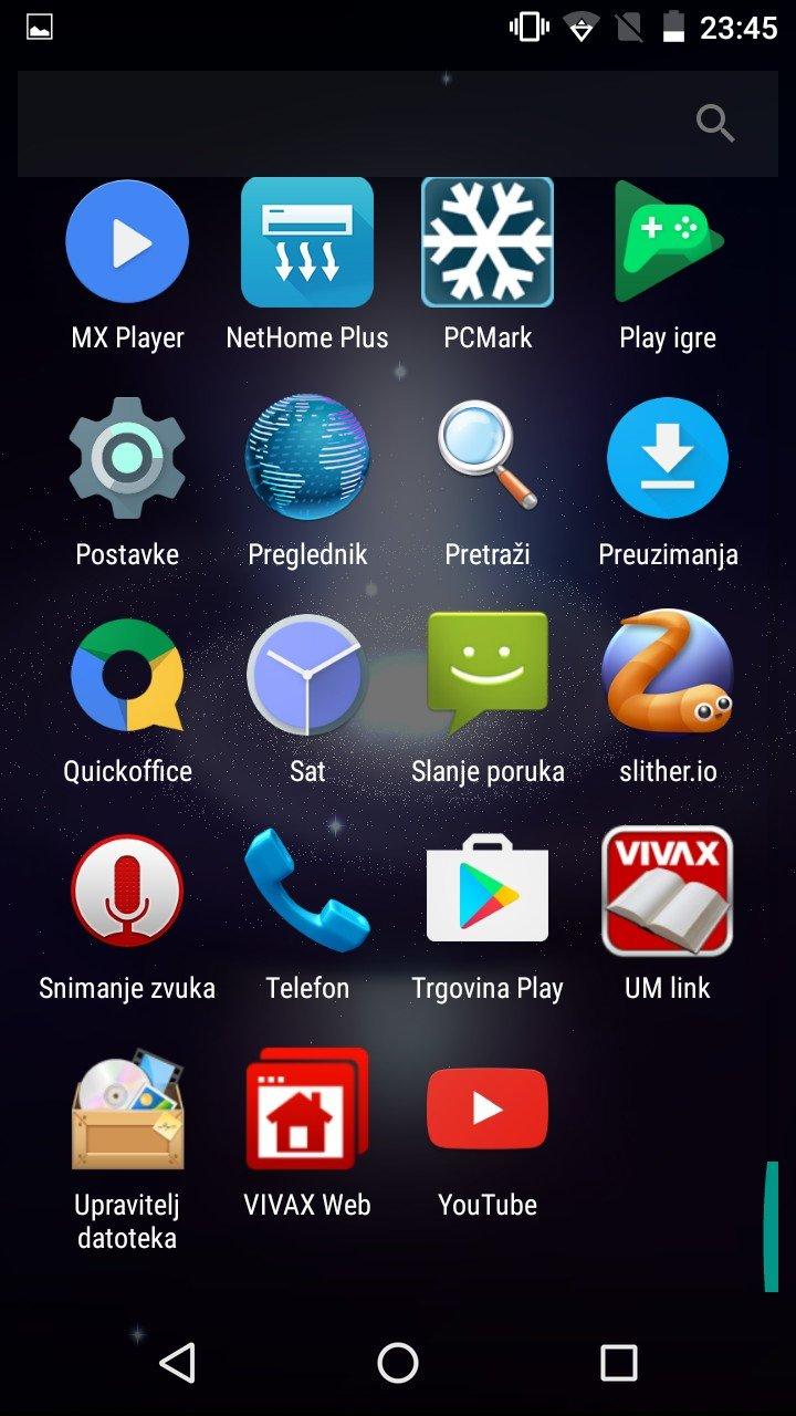 Vivax Point X551 OS 3