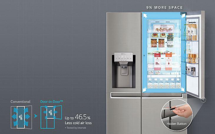 LG hladnjak s dvoja vrata 2