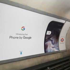 London Google Pixel Ads 4