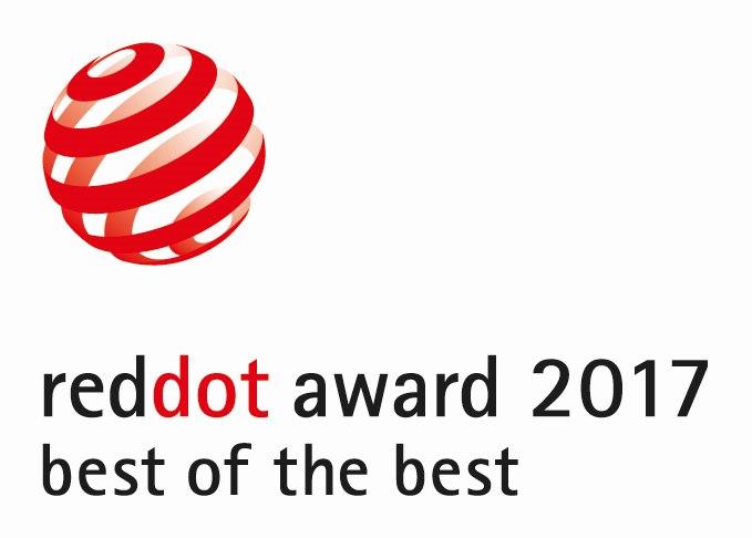 Red Dot Award 2017 Best of the Best Logo
