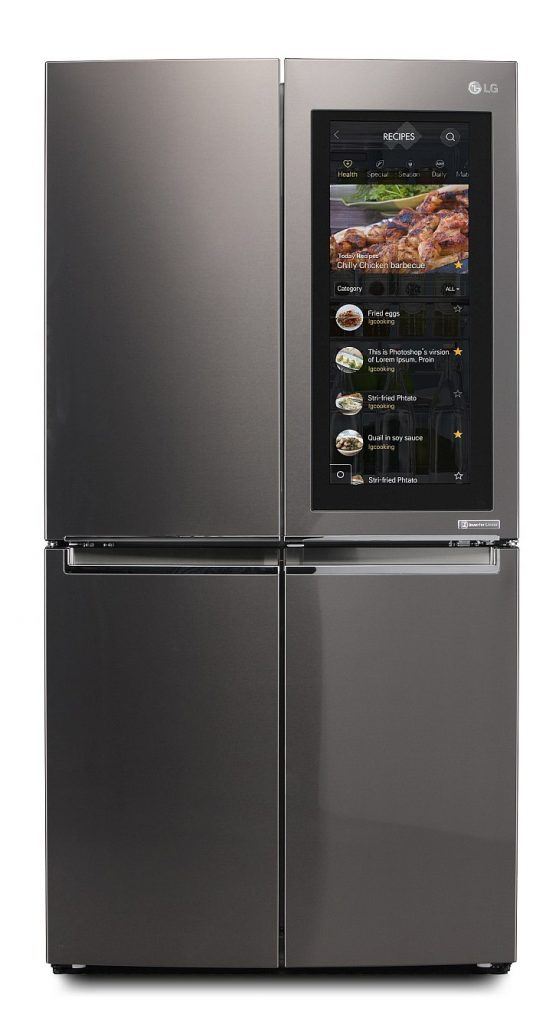 Red Dot  Best of the Best with Smart InstaView Refrigerator