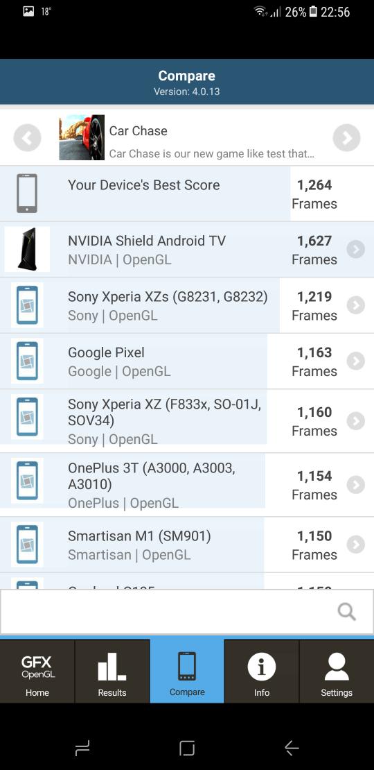 Samsung Galaxy S8 benchmark 14
