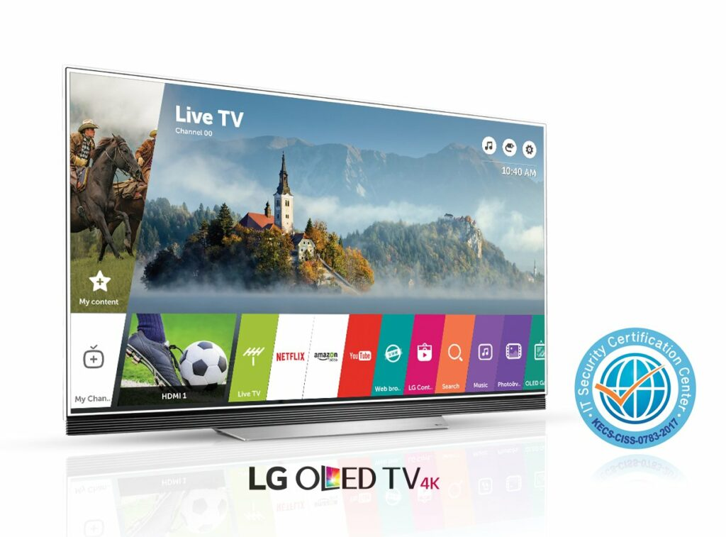 CC Certification with OLED TV E7