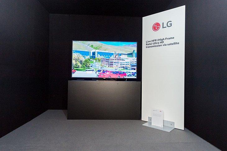 LG ASTRA DEMO at SES