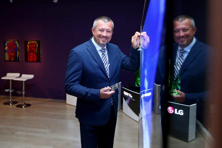 LG OLED W7 i Mario Medved