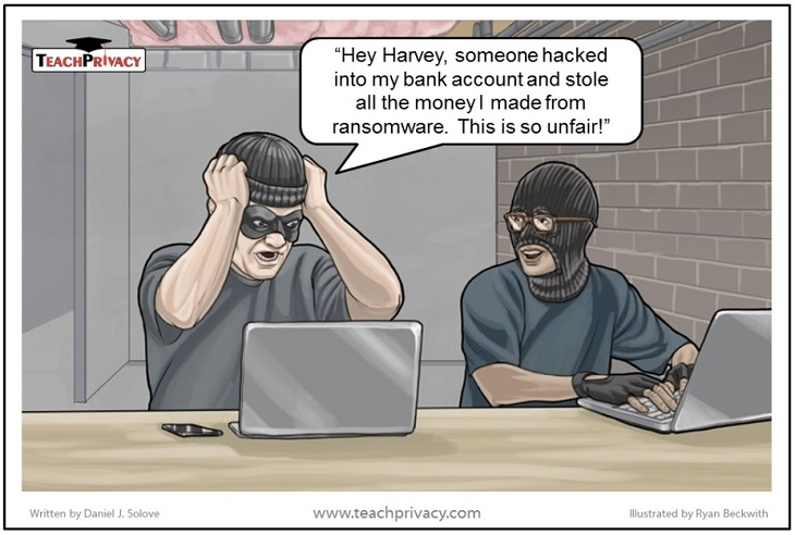 Ransomware cartoon 1