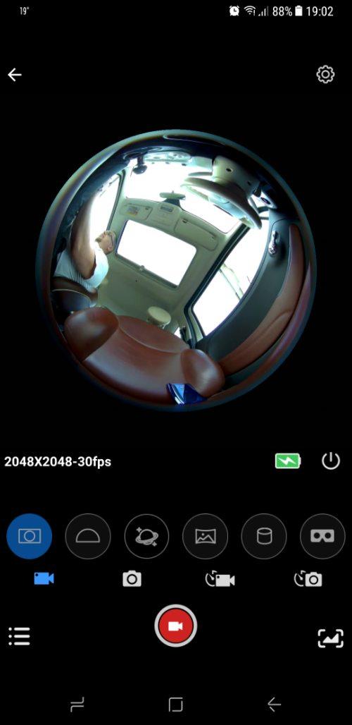 SJCam SJ360 screenshot 1