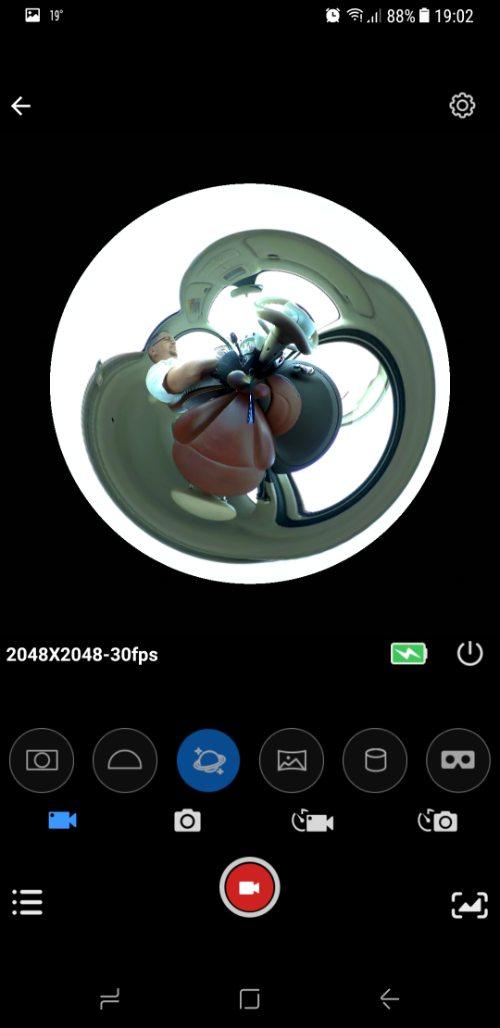 SJCam SJ360 screenshot 3