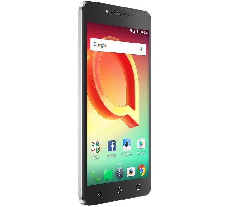 alcatel a50 front angled