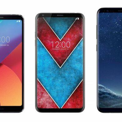 LG V30 vs LG G6 vs S8 PLus