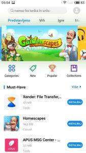 Meizu M6 App Store 2