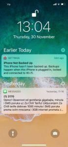 iPhone X iOS 11 29