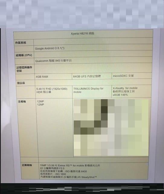Sony XZ2 2