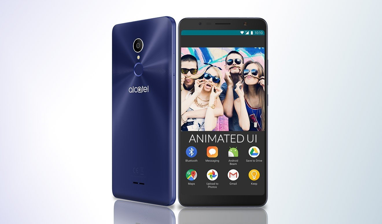 Alcatel 3C social mode