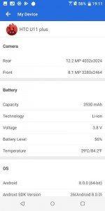 HTC U11 benchmark 11