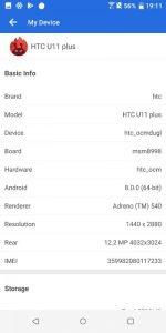 HTC U11 benchmark 8