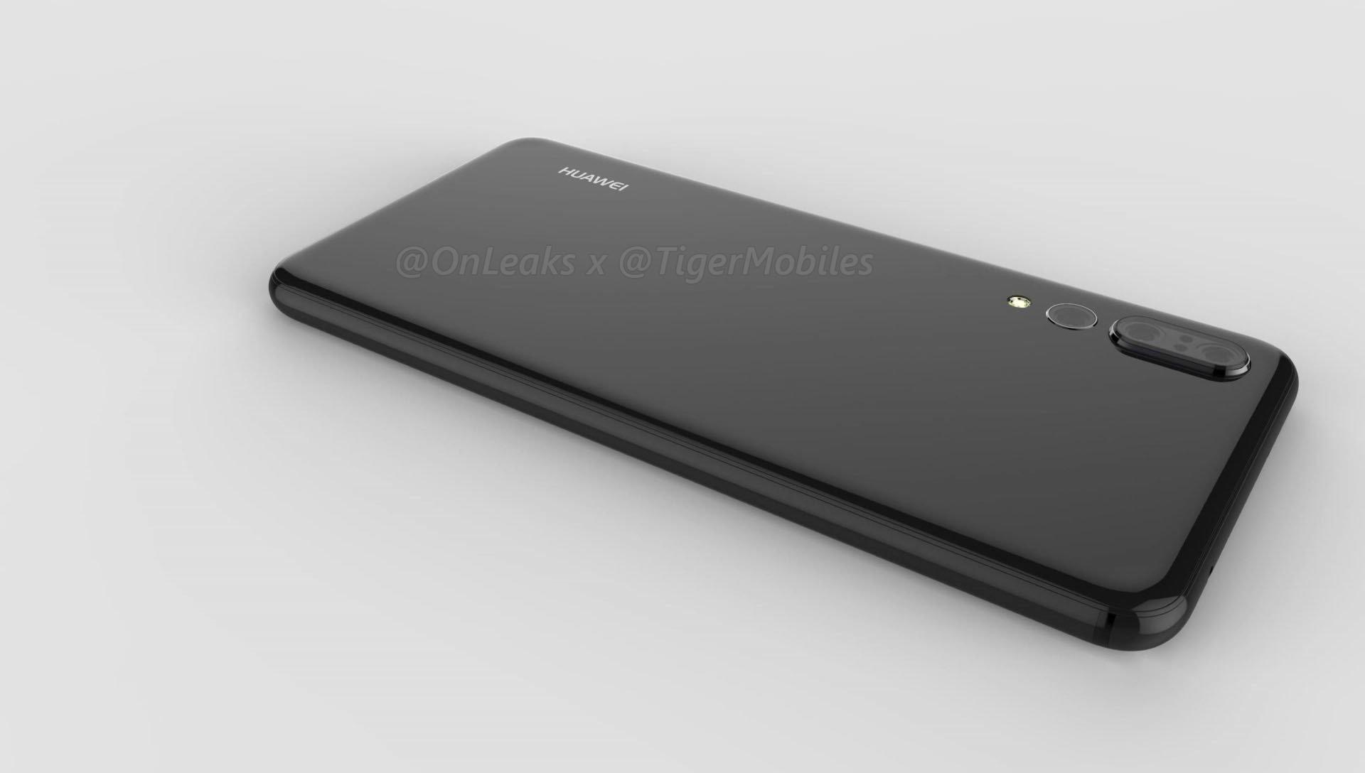 Huaweia P20 Plus renderi