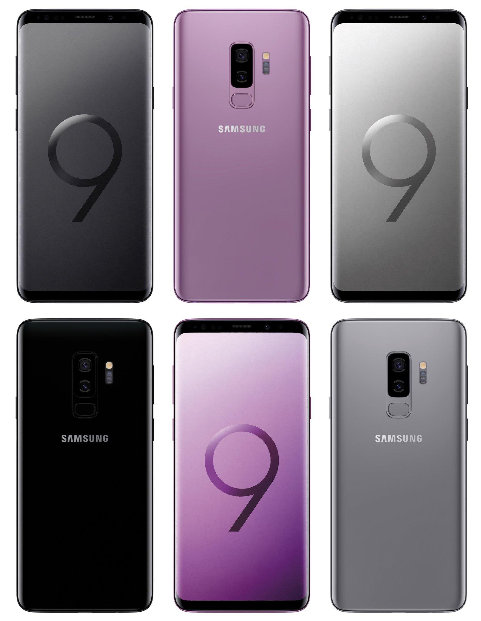 Samsung S9 Plus srebrni 2