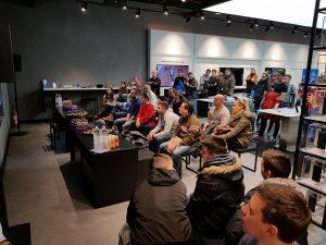 Samsung S9 predstavljanje SES Arena 1