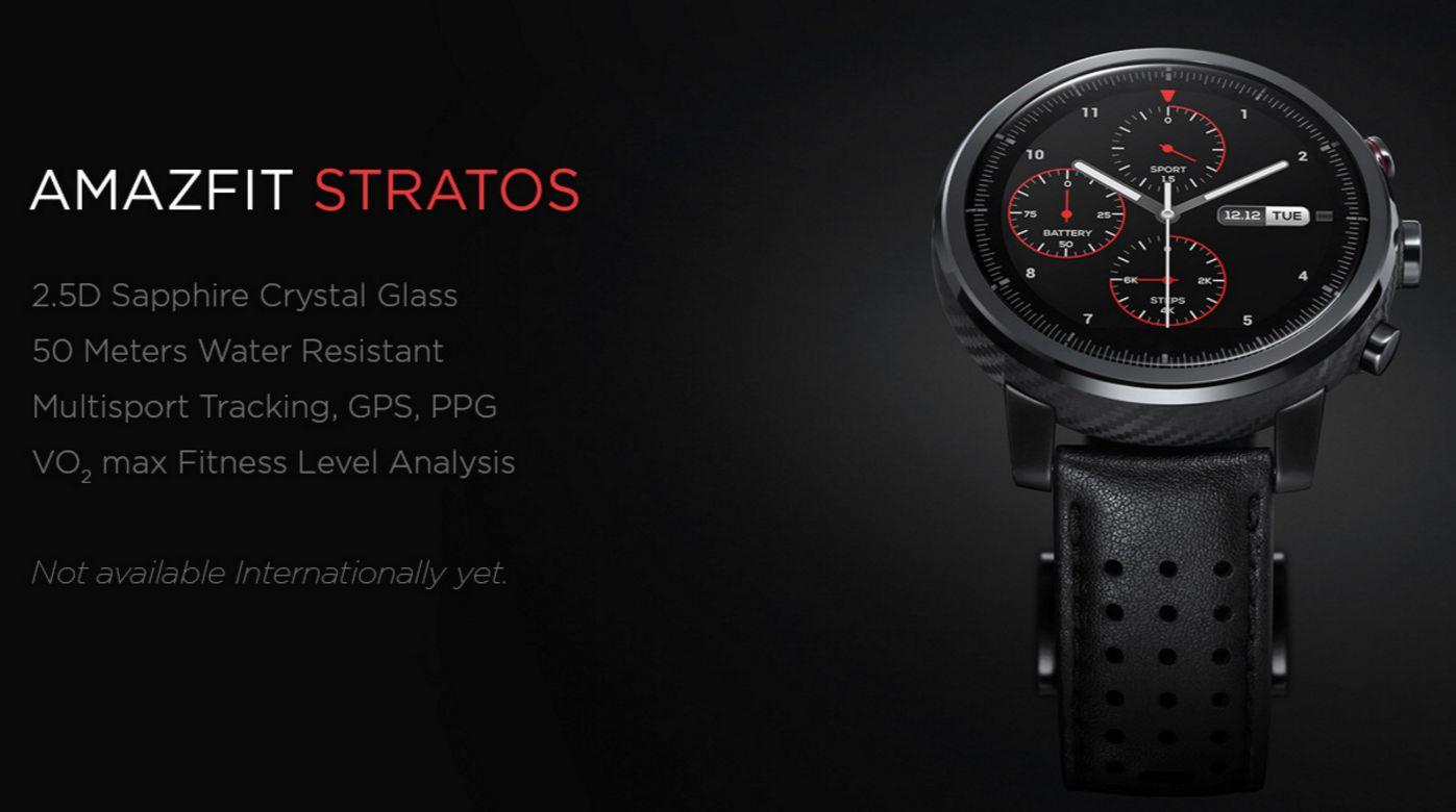 Xiaomi HUAMI AMAZFIT Stratos Smart Sports Watch 2