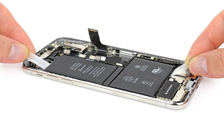 iPhone X teardown iFixit 010