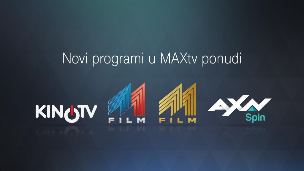 MAXtv novi programi