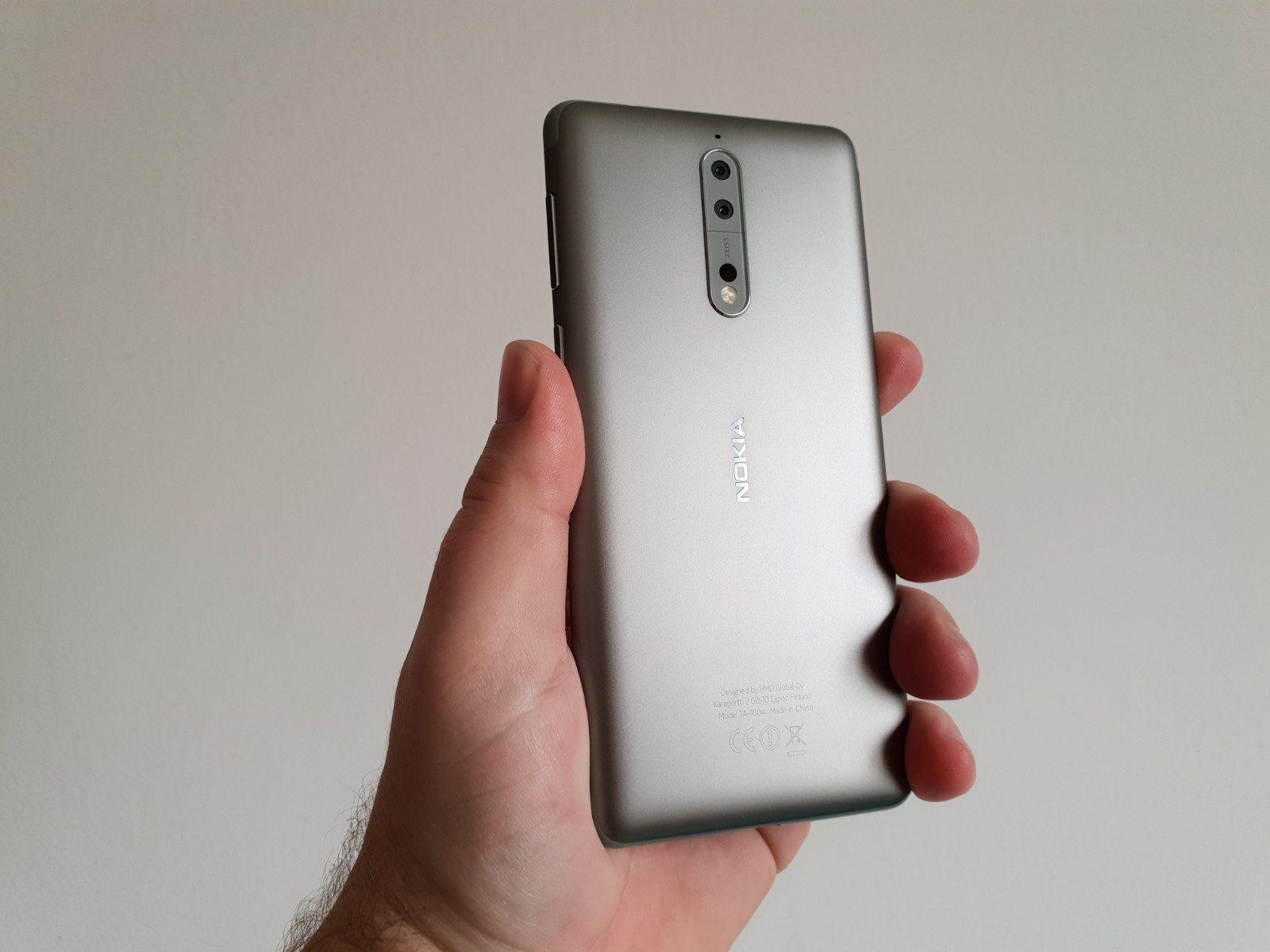 Nokia 8 Oreo 8 1
