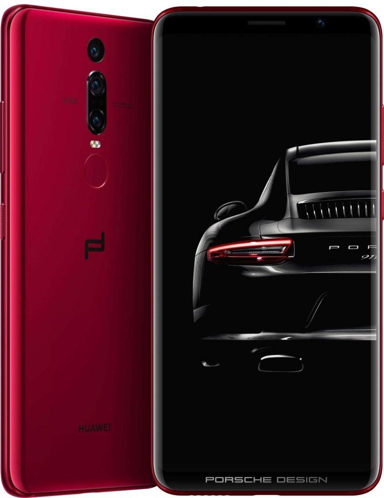 Porsche Design Huawei Mate RS Red