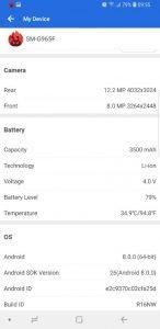 Samsung S9 AnTuTu Benchmark 2