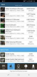 Samsung S9 GFXBench GL 1
